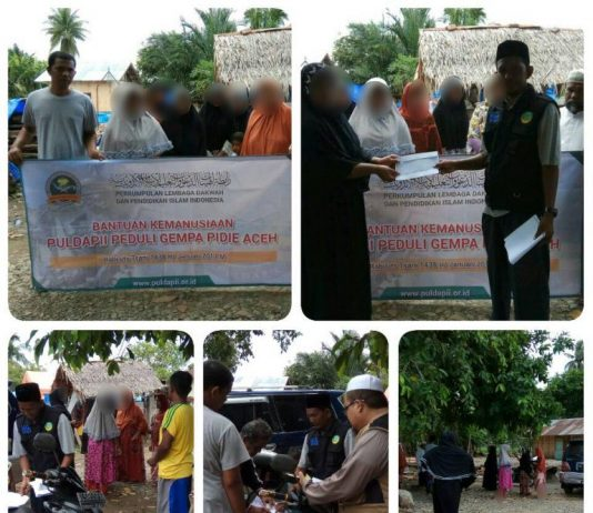 Laporan Kegiatan PULDAPII Peduli Gempa Pidie Aceh 02
