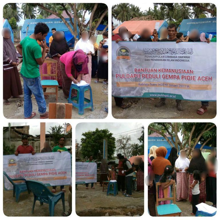 Laporan Kegiatan PULDAPII Peduli Gempa Pidie Aceh 03