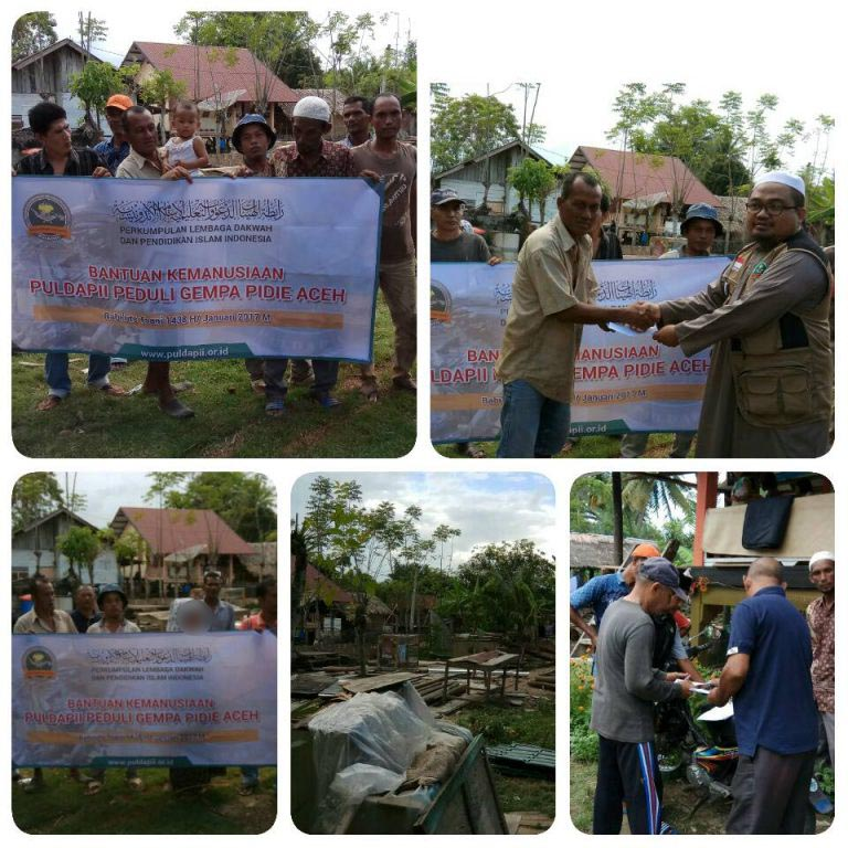 Laporan Kegiatan PULDAPII Peduli Gempa Pidie Aceh 04