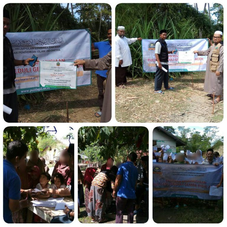 Laporan Kegiatan PULDAPII Peduli Gempa Pidie Aceh 05