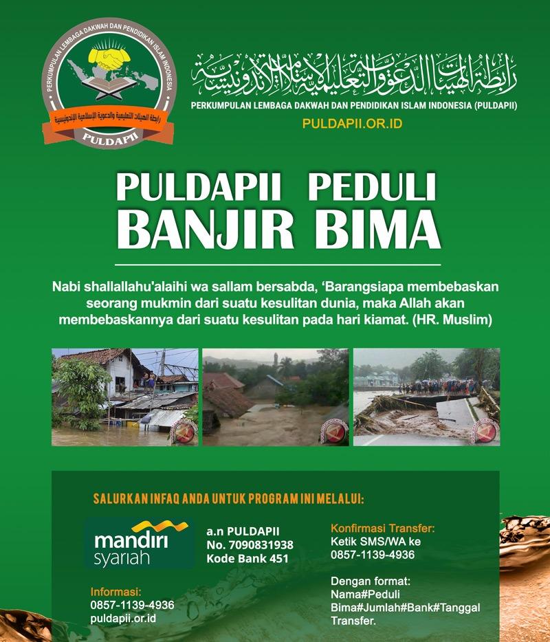 PULDAPII Peduli Banjir Bima