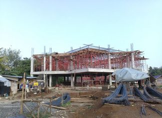 Progres Pembangunan Masjid Menara Ilmu – Juni 2017